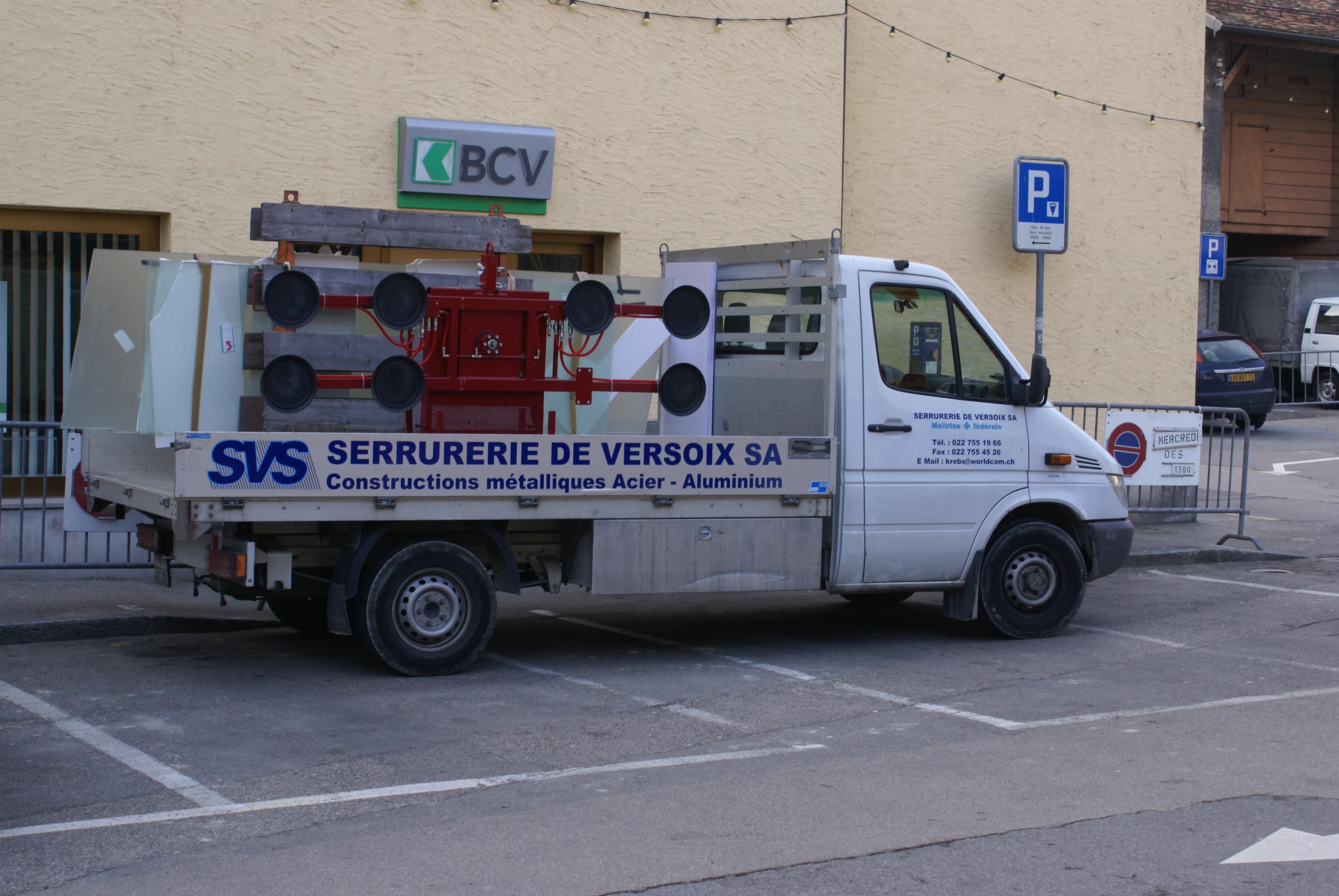 nos camionnettes